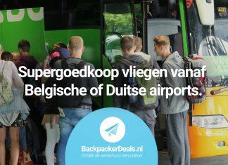 Supergoedkoop vliegen vanaf Belgische of Duitse airports
