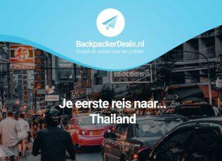 Je eerste reis naar Thailand