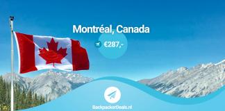 Montreal voor 287 euro