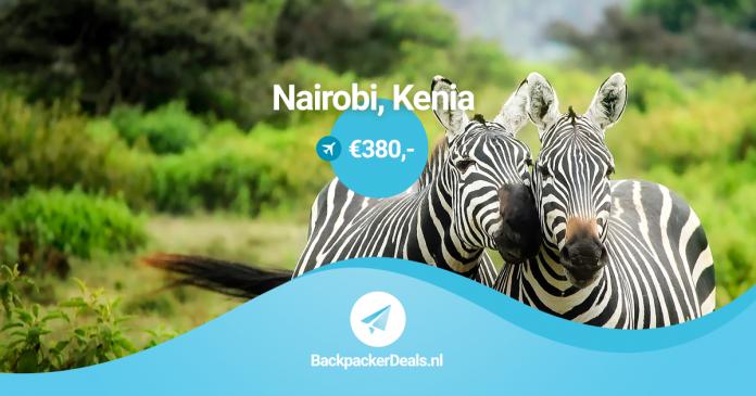 Kenia voor 380 euro