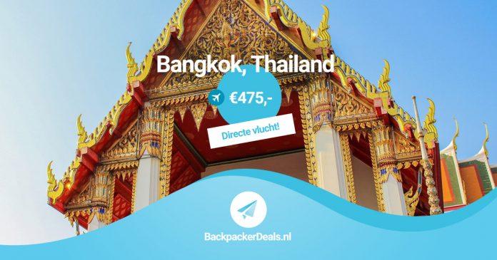Directe vlucht naar Bangkok met KLM voor slechts 475 euro