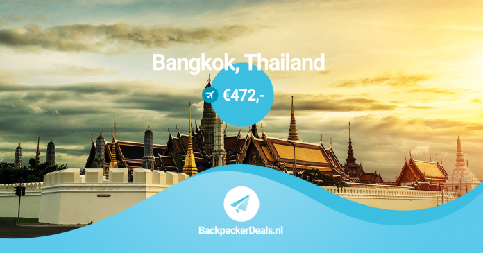 Bangkok voor 472 euro