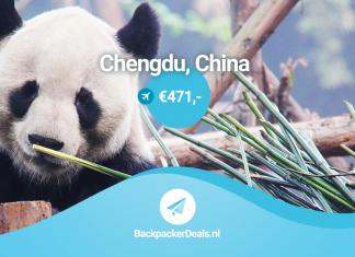 Chengdu voor 471 euro