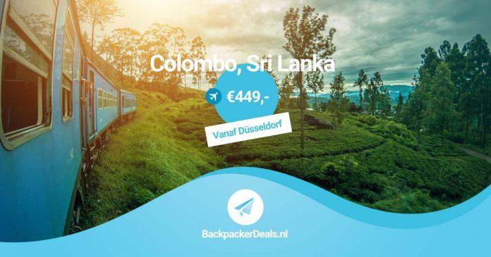 Colombo Sri Lanka voor 450 euro