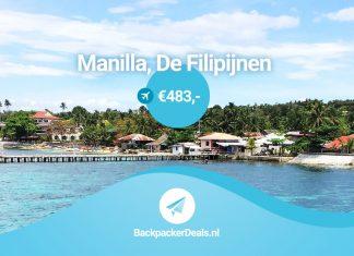 Manilla voor 483 euro