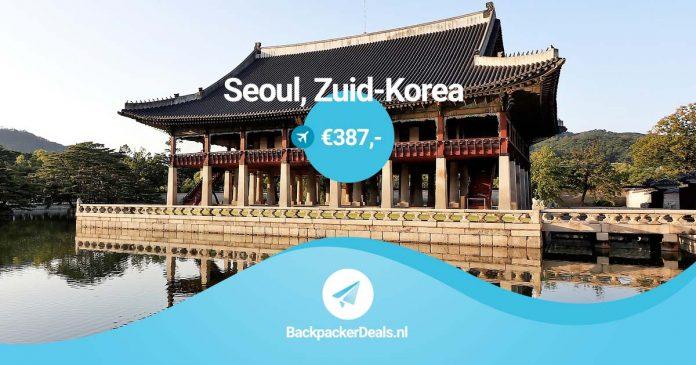 Seoul voor 387 euro