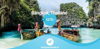 Thailand voor 278 euro
