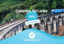 Sri Lanka voor 403 euro