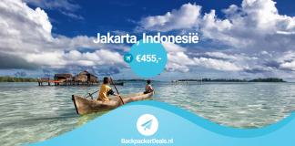Indonesië voor 455 euro