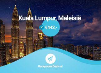 Kuala Lumpur voor 443 euro