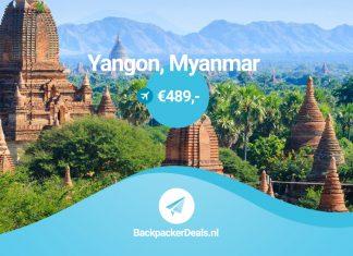 Myanmar voor 489 euro