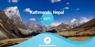 Nepal voor 277 euro