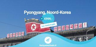 Noord-Korea voor 999 euro all inclusive