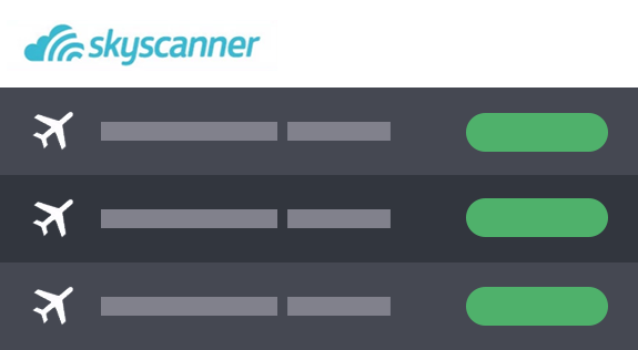 Skyscanner boekingsinstructies