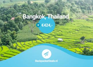 Thailand voor 424 euro