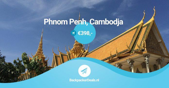 Goedkope reis naar Cambodja