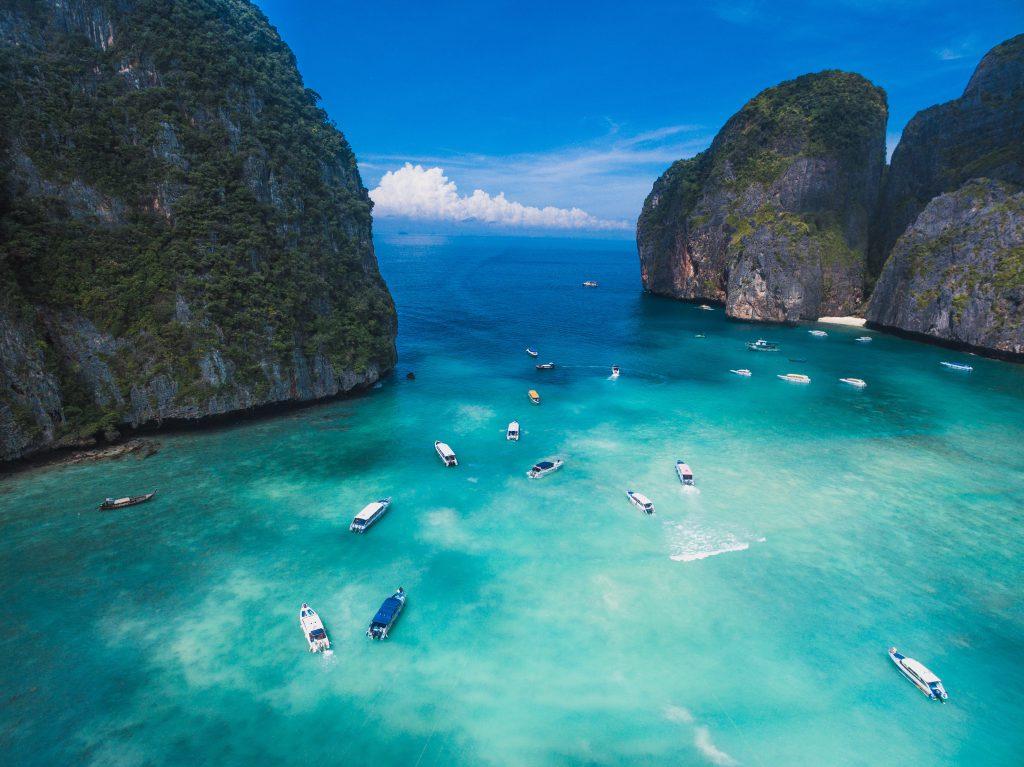 Baai Thailand zonnig