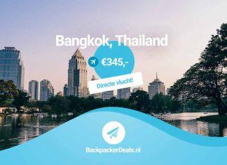 Directe vlucht naar Thailand
