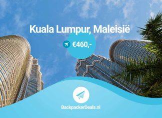 Maleisië voor 460 euro