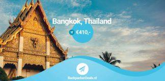 Bangkok voor 410 euro