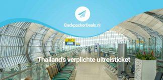 Uitreisticket verplicht voor Thailand