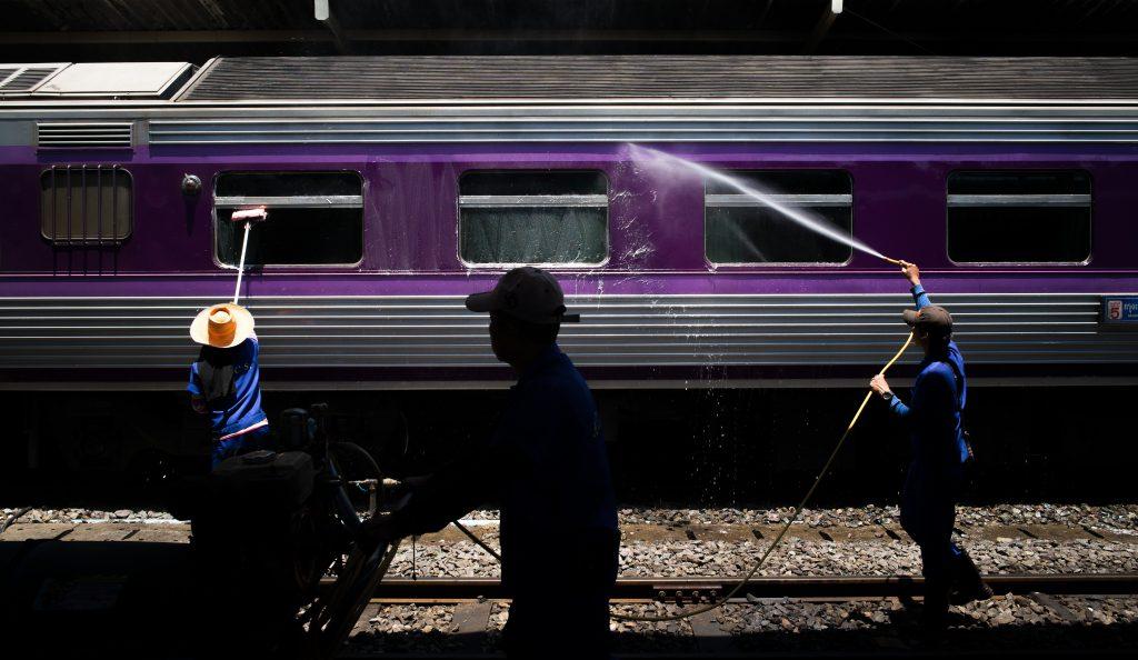 Treinreizen in Thailand